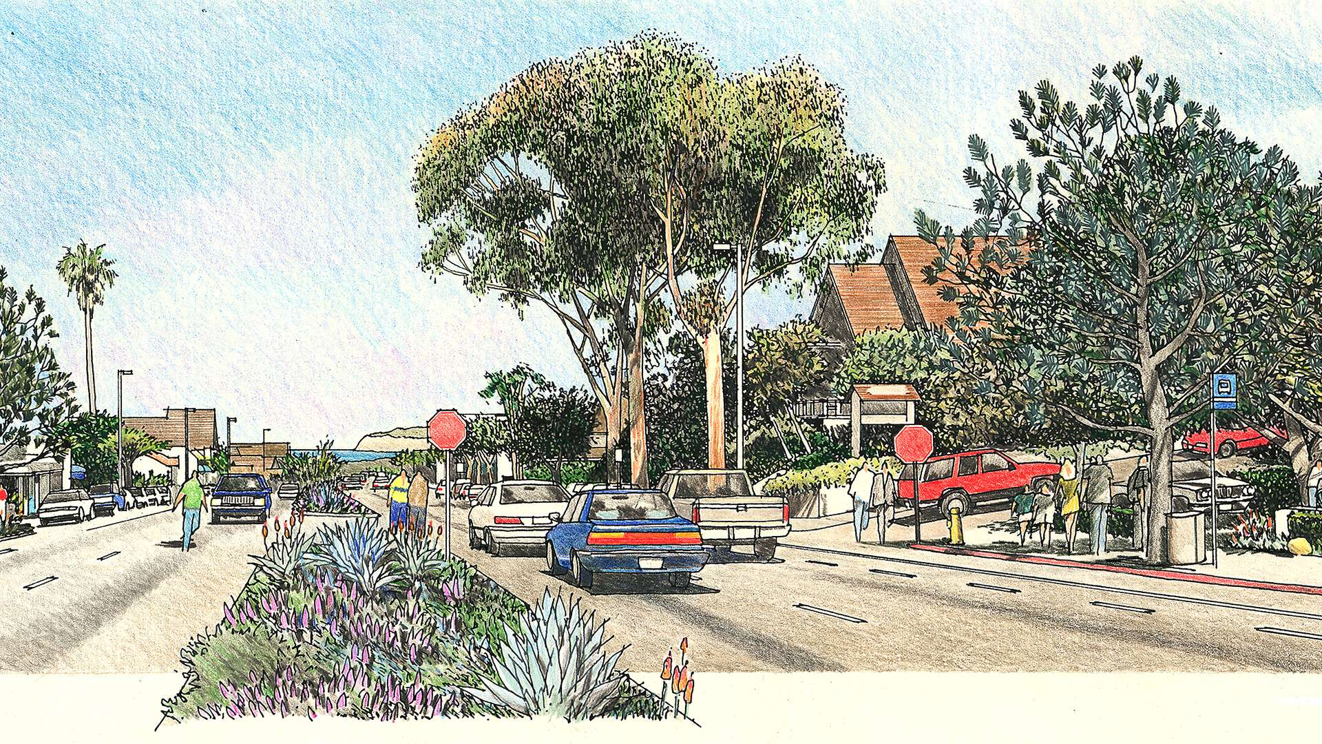 Camino Del Mar Streetscape Plan Primary 4