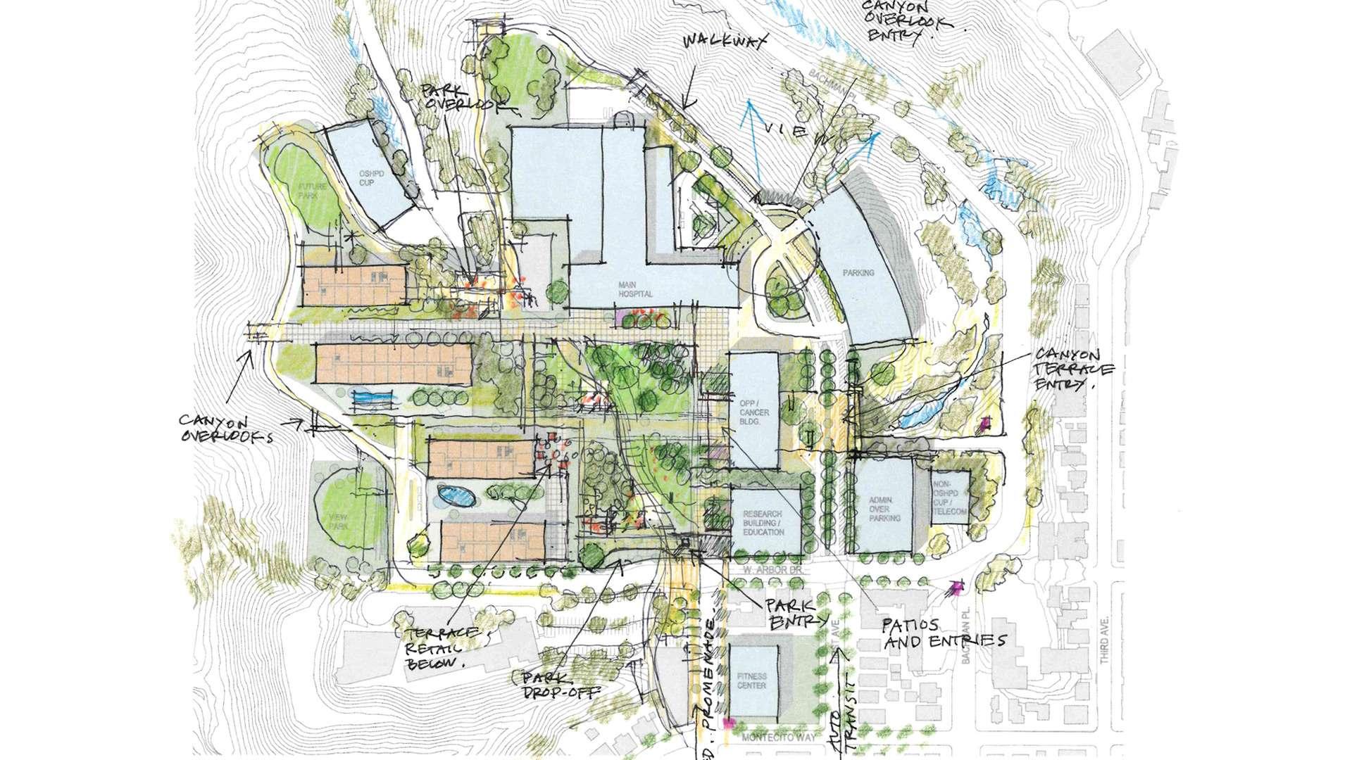 UCSD Hillcrest Medical Campus Master Planning Study | Spurlock